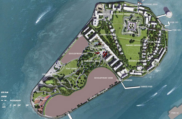 Governors Island New York redesign