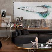 Living Room Como Italy Loft Marco Vido Simply Amazing