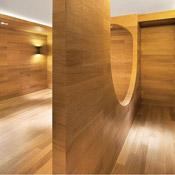Wooden Arch Penda Hongkun Museum Simply Amazing