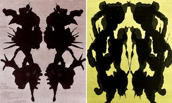 Lindstrom Rugs Inkblot Series 2