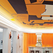 Orange Ceiling Hotel Vernet Simply Amazing