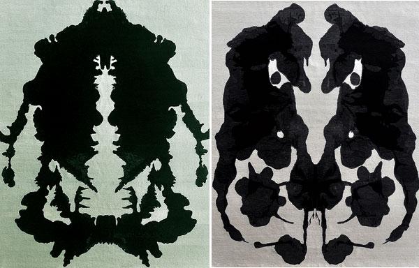 Lindstrom Rugs Inkblot Series 3